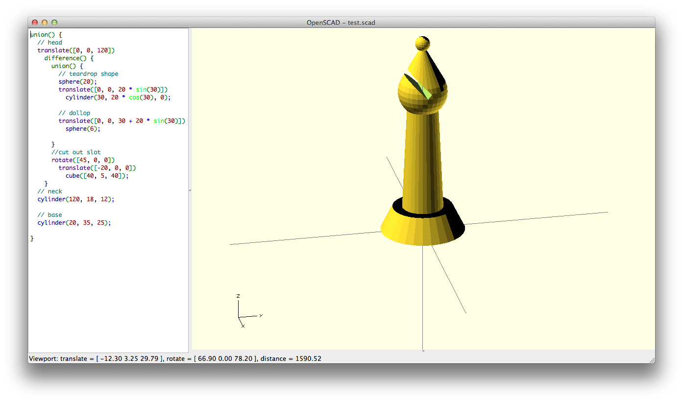 Know only 10 things to be dangerous in OpenSCAD   Cubehero Blog