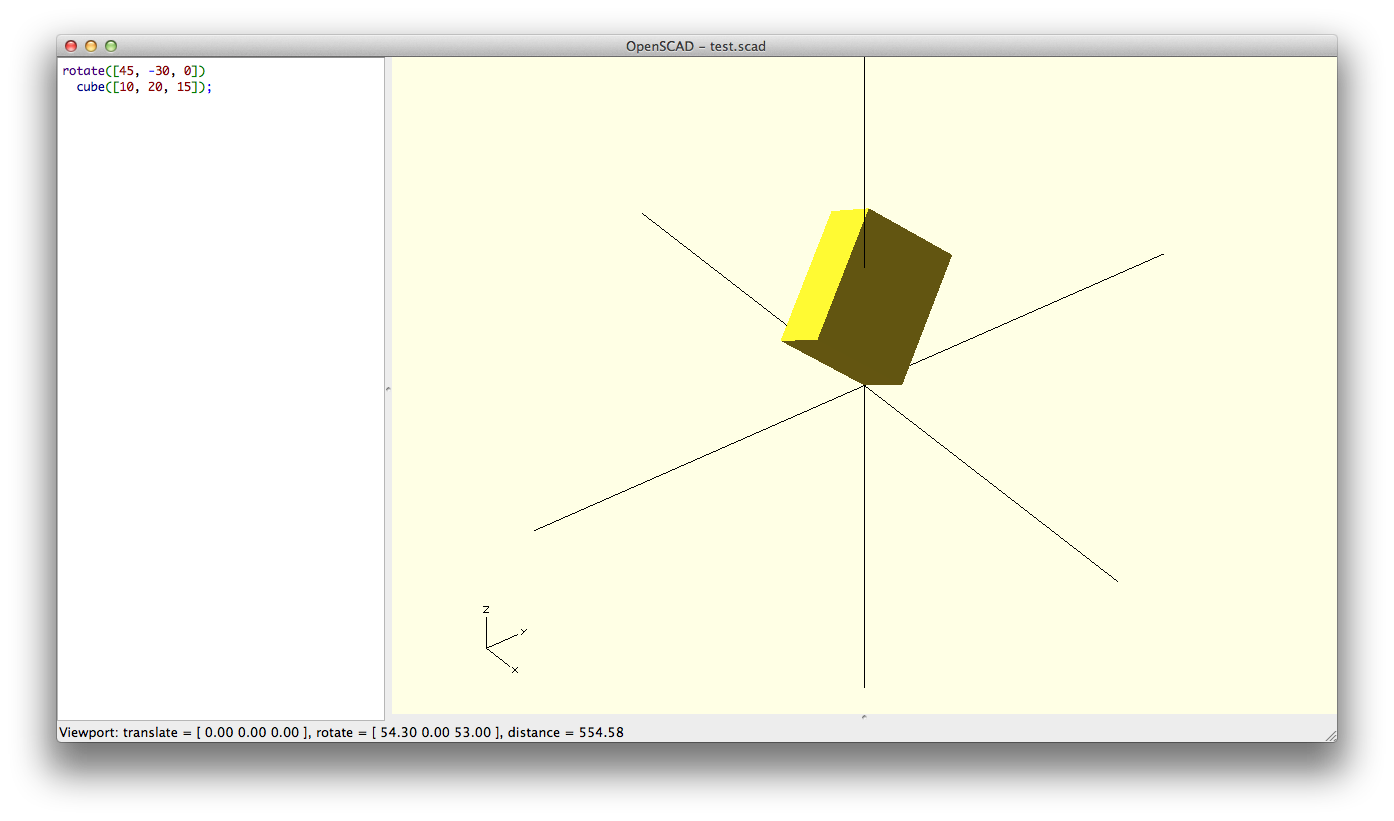 Know only 10 things to be dangerous in OpenSCAD | Cubehero Blog